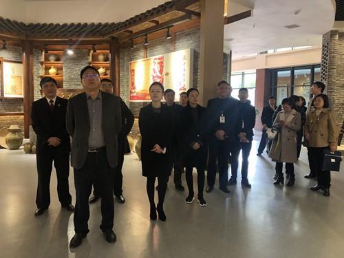 自贡市人民检察院黄国清检察长莅临bwinapp调研