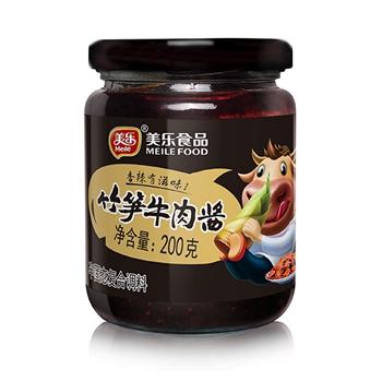 竹笋牛肉酱